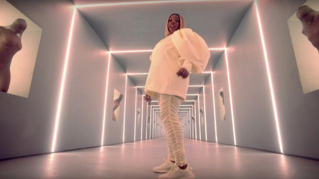 Adidas Yeezy Boost 350 V2 Butter worn