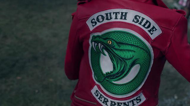 chaussures de séparation 51989 cfc11 The biker jacket red Southside Serpents of Cheryl Blossom ...