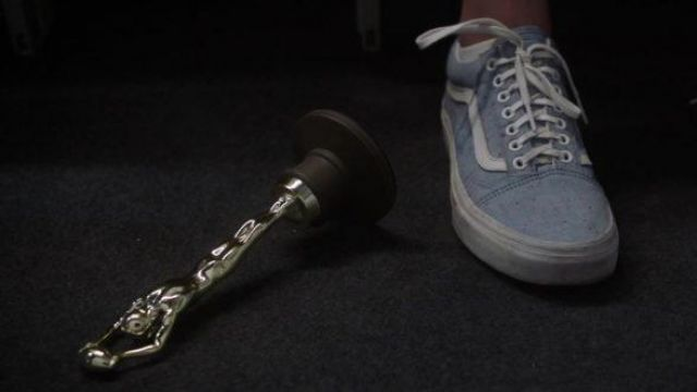 Vans Blue Shoes Worn By Morgan Kate Mckinnon As Seen In The Spy Who Dumped Me Spotern