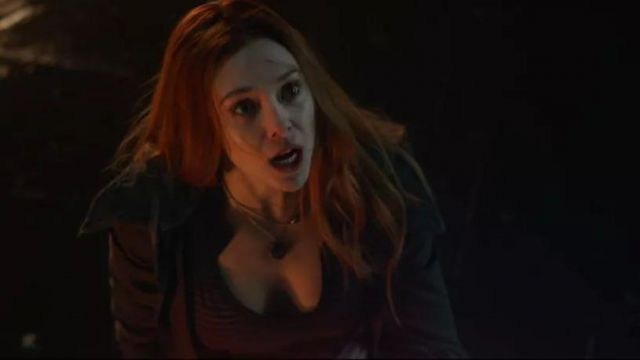 Avengers The infinity war Scarlet Witch Collier guerre civile Age of Ultron Cosplay