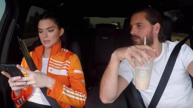 Orange Piste Veste d'elle-Même (Kendall Jenner) en accord avec les Kardashians (S15E12)
