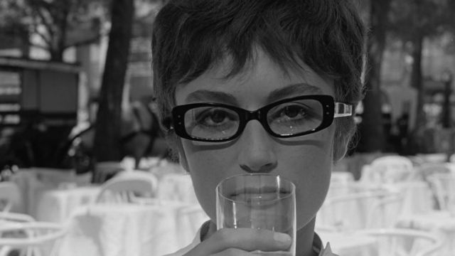 The eye glasses worn by Anouk Aimée in Eight and a half | Spotern