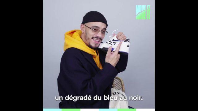 asics blanche mister v