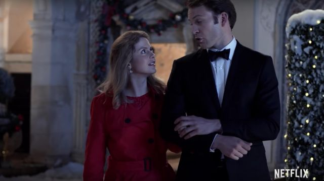 A Christmas Prince Ben Lamb.The Bow Tie Of The Black Prince Richard Ben Lamb In A