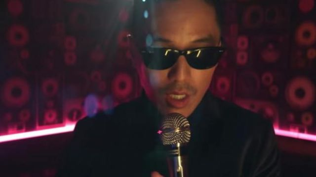Ray-Ban Sunglasses in Waste It On Me Music Video of Steve
