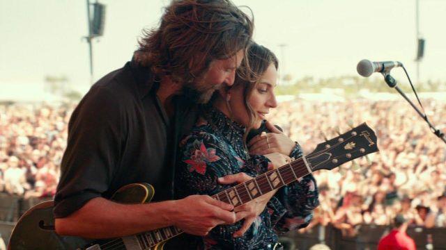 Allié (Lady Gaga) chemise western comme on le voit dans Une Étoile Est Née
