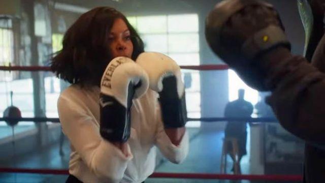 Les gants de boxe Everlast blancs d'Ali Davis (Taraji P. Henson) dans What Men Want