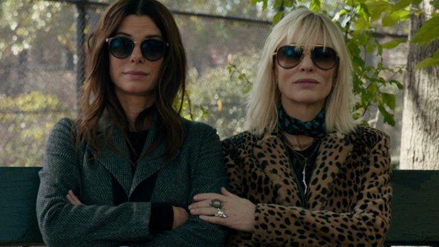 Les lunettes de soleil de Lou (Cate Blanchett) dans Ocean's 8