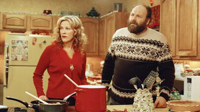 Surviving Christmas.Christmas Sweater Jumper Worn By Tom Valco James Gandolfini