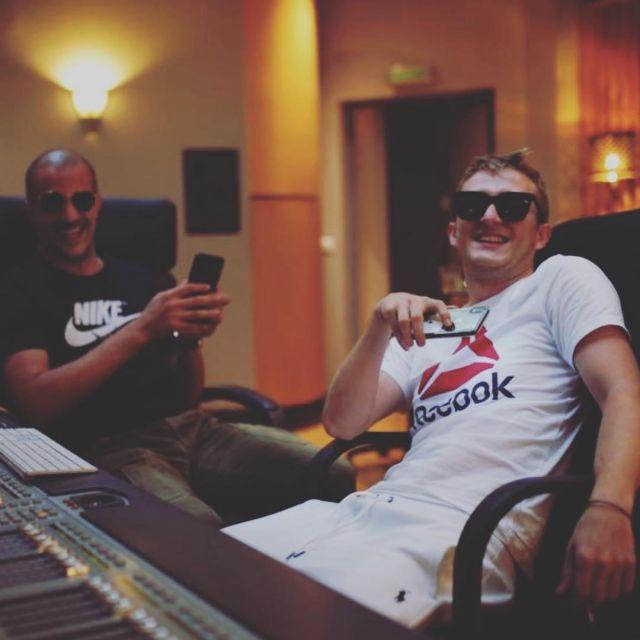 Le t-shirt blanc Reebok de Vald sur son compte Instagram @valdsullyvan