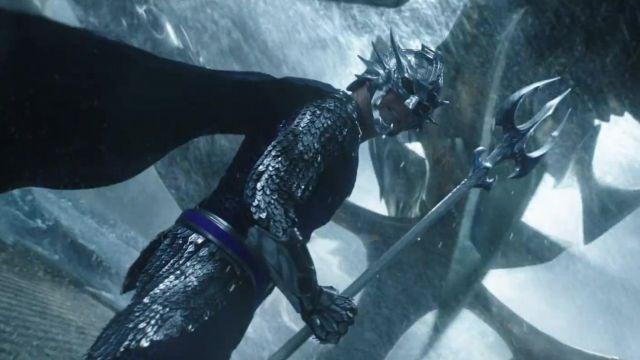 The helmet of King Orm / Ocean Master (Patrick Wilson) in Aquaman