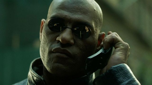 Nokia 8810 mobile phone used by Morpheus (Laurence Fishburne) in The Matrix