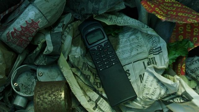 Nokia 8110 used by Cypher (Joe Pantoliano) in The Matrix
