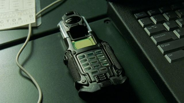Samsung SPH-N270 used by Trinity (Carrie-Anne Moss) in The Matrix Reloaded