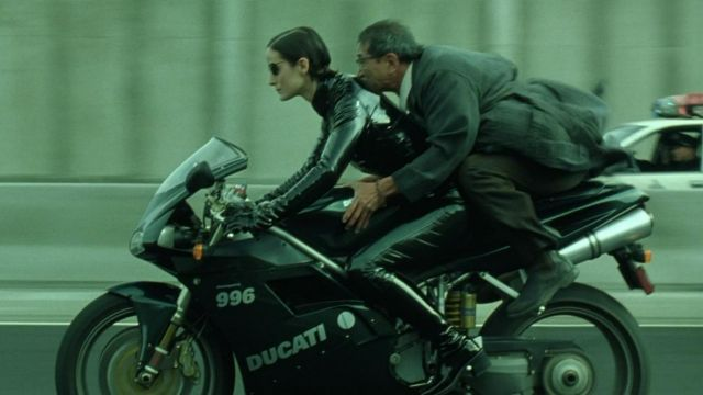 Ducati Motorcycle used by Trinity (Carrie-Anne Moss) in The Matrix Reloaded