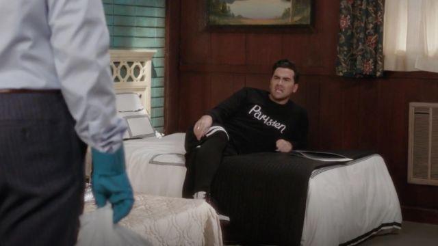 Maison Kitsuné Parisien Sweat-shirt porté par David Rose (Dan Levy) dans Schitt s Creek S04E02