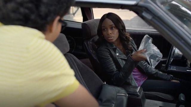 Le sac à main Michael Kors de Tamar (Ozioma Akagha) dans Marvel's Runaways S02E12