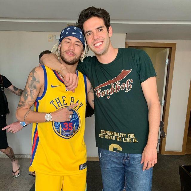 The Nike t shirt worn by Neymar Jr on his account Instagram
