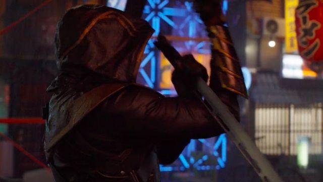 Hawkeye Ronin's (Jeremy Renner) sword as seen in Avengers: Endgame
