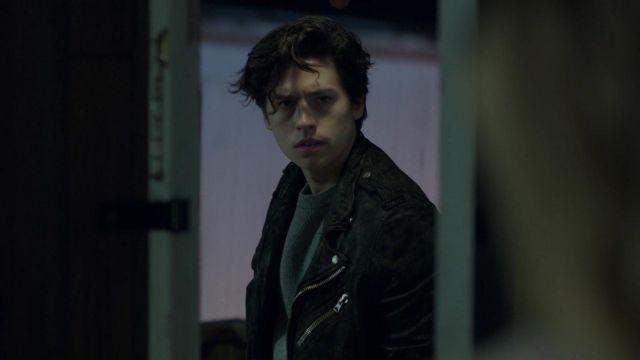 Leather jacket worn by Jughead Jones (Cole Sprouse) in Riverdale, Season 1 Episode 13