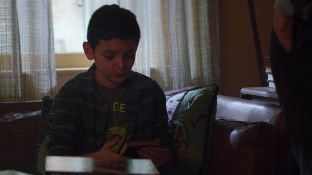 The count of Shows Cristo by Alexandre Dumas, Joe Goldberg (Penn Badgley) in YOU S01E05