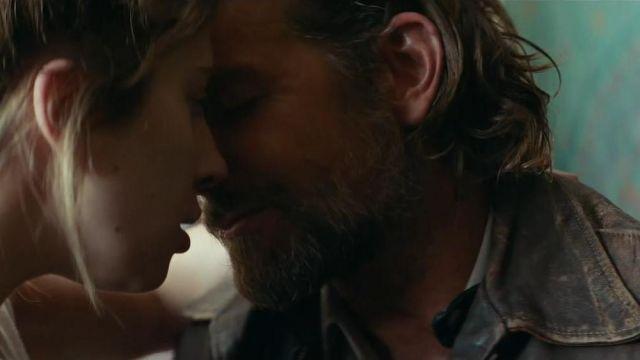 Veste en cuir portés par Jack (Bradley Cooper), comme on le voit dans Star est Née