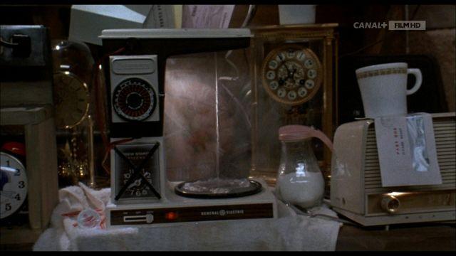 General Electric Vintage bouilloire de Dr Emmett Brown (Christopher Lloyd) dans Retour vers le Futur