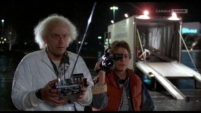 Futaba Télécommande utilisée par le Dr Emmett Brown (Christopher Lloyd) dans Retour vers le Futur