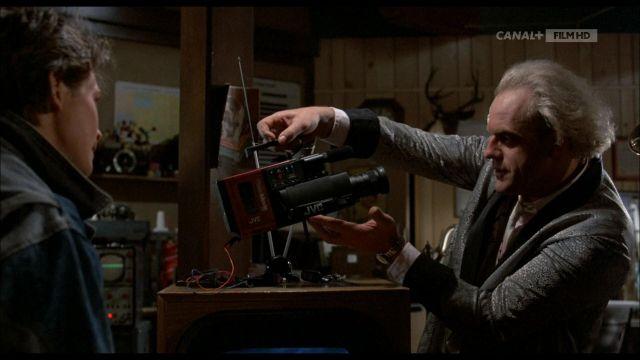 JVC Caméscope utilisé par le Dr Emmett Brown (Christopher Lloyd) dans Retour vers le Futur