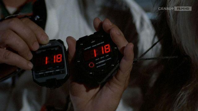Citoyen Chronomètre par le Dr Emmett Brown (Christopher Lloyd) dans Retour vers le Futur