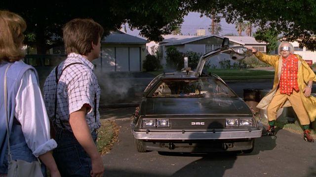 Delorean Voiture utilisée par le Docteur Emmett Brown (Christopher Lloyd) dans Retour vers le Futur Partie II
