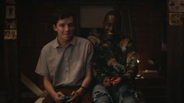 The Nintendo Switch Otis (Asa Butterfield) in Sex Education S01E03