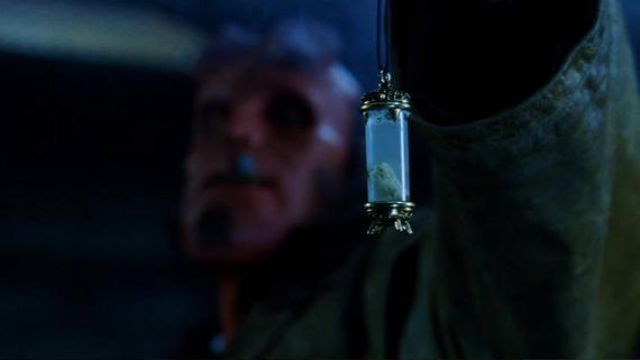 Hellboy's (Ron Perlman) Saint Dionysius reliquary as seen in Hellboy
