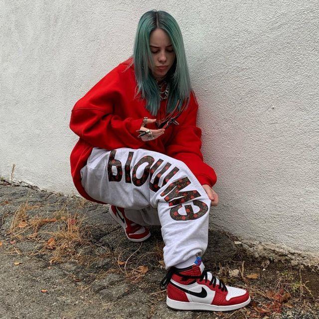 Sneakers Nike Air Jordan Billie Eilish