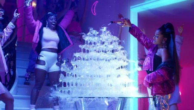 réversible velours rose porté Ariana doudoune Kru en par UMVjpGSqzL