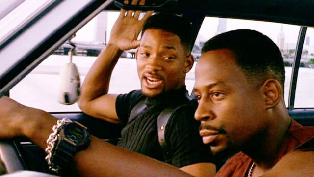The watch Casio G-Shock Marcus Burnett (Martin Lawrence) in Bad Boys