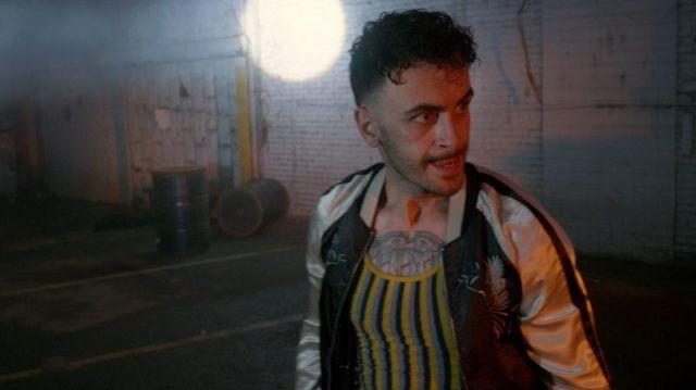 Blouson porté par Cassidy (Joseph Gilgun) comme on le voit