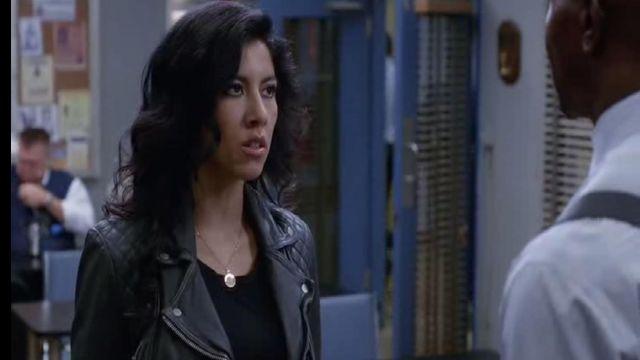 BlankNYC Veste en Faux Cuir porté par Rosa Diaz (Stephanie