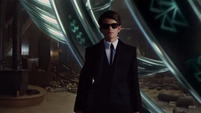 Ray-Ban Black sunglasses worn by Artemis Fowl II (Ferdia Shaw) in Artemis Fowl