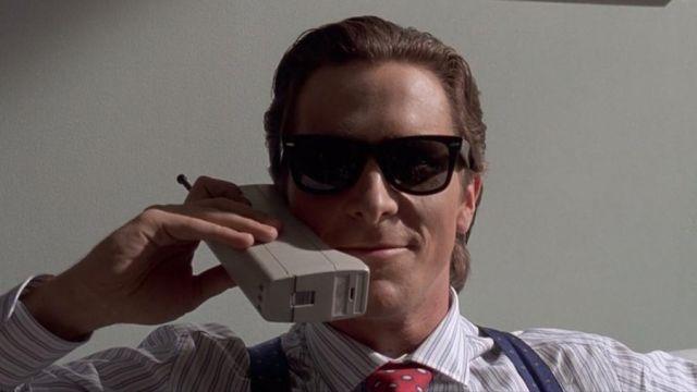 Ray-Ban Wayfarer Lunettes de soleil portées par Patrick Bateman (Christian Bale) dans American Psycho
