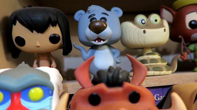 The Figurine Funko Pop Of Mowgli From The Jungle Book Of