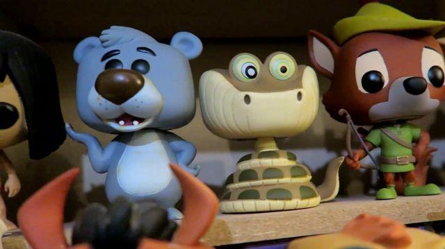 The Figurine Funko Pop Baloo From The Jungle Book Of Modzii