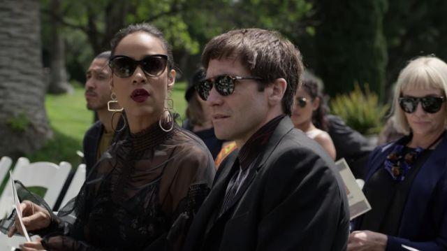 Persol Sunglasses worn by Morf Vandewalt (Jake Gyllenhaal) as seen in Velvet Buzzsaw