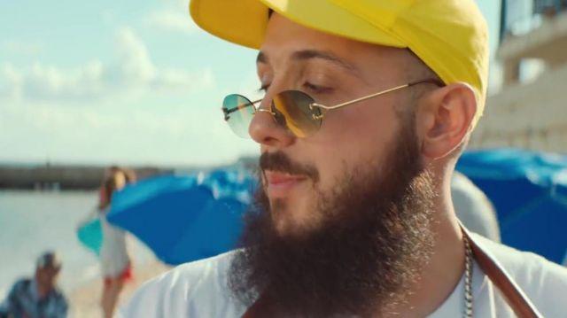 Les lunettes de soleil de Caballero dans me clip Dégueulasse de Caballero & JeanJass