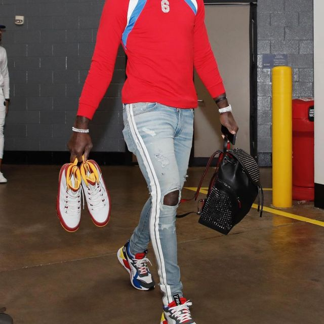 Sneakers Puma RS X Toys worn by Lance
