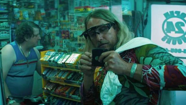 Les lunettes de vue Aloha Eyewear Moondog (Matthew McConaughey) dans The Beach Bum