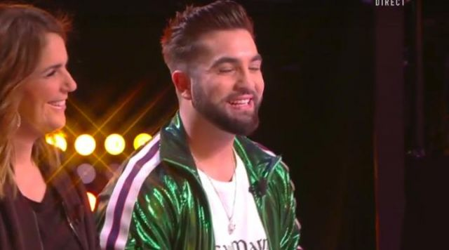 The padded tiger head Kenzo by Kendji Girac in Key not at my post special Kendji the 19.02.2019