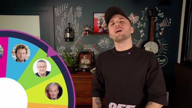 Le t-shirt Off White porté par Squeezie dans sa vidéo YouTube LA TÉLÉ VA-T-ELLE DISPARAÎTRE ? (Y'a quoi #1)