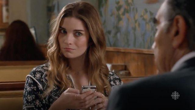 De téléphone cellulaire Cas Charmes de Alexis Rose (Annie Murphy) dans Schitt s Creek S02E09