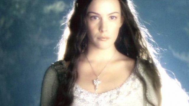 COLLANA CON CIONDOLO ARWEN EVENSTAR Necklace Lord of the Rings Pendant Movie